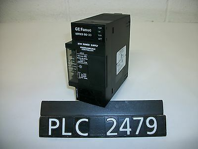 GE Fanuc Series 90-30 IC693PWR321P 30W Power Supply (PLC2479)