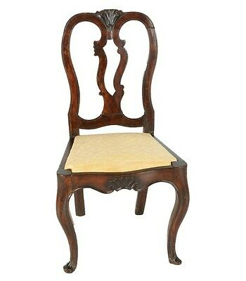 Antique Queen Anne Side Chair 18th century England