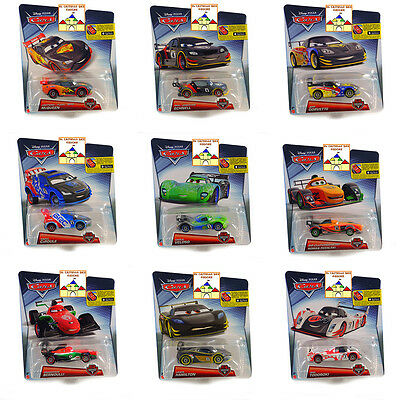 CARS CARBON RACERS Personaggi in Metallo scala 1:55 by Mattel Disney