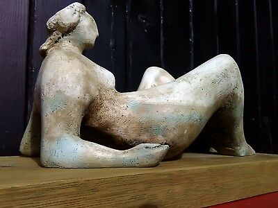 Maquette based on HENRY MOORE's Draped Reclining Figure of 1976.