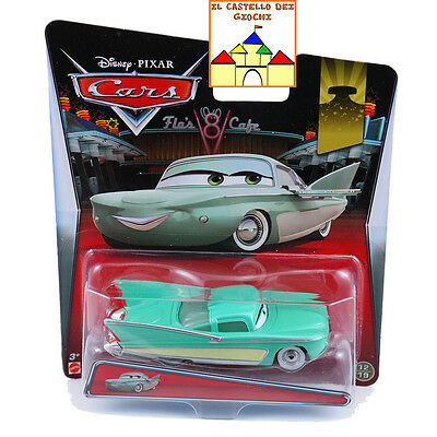 CARS Personaggio FLO in Metallo scala 1:55 by Mattel Disney Pixar