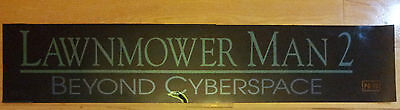 Lawnmower Man 2,Beyond Cyberspace,Large (5X25) Movie Theater Mylar Banner/Poster