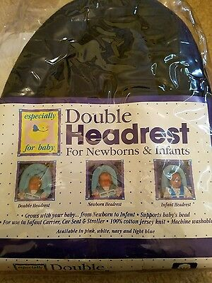 Double headrest for Newborn and Infant