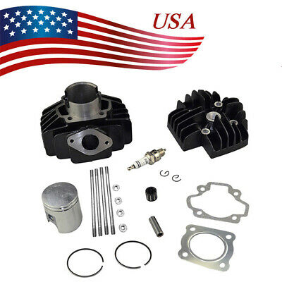 Cylinder Piston Gasket Cylinder Head Kit for Yamaha YF60S 4-Zinger 1986