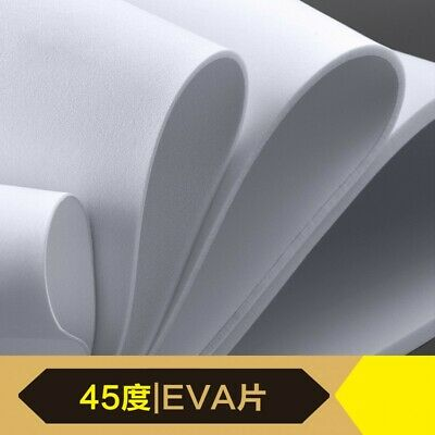 EVA Foam Sheet Board White & Black Chose Your Size 1mm 2mm 3mm 5mm 10mm Thick