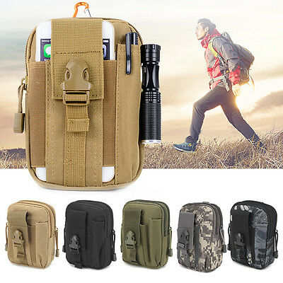 Tactical Holster Military Molle Hip Waist Belt Bag Wallet Pouch Purse Phone Case