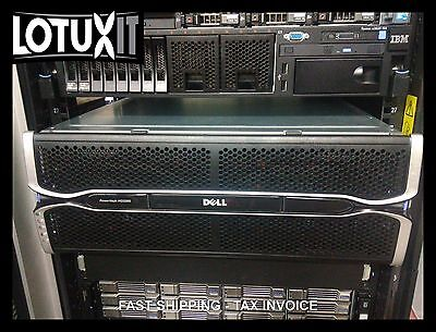 Dell PowerVault MD3260 6G 48x 4TB SAS 192TB RAW Warranty 2019 MD3200 MD3400