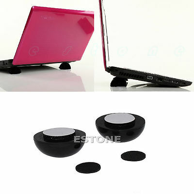 High Quality Laptop Notebook Cool Ball Cooler Stand + Skidproof Pad New