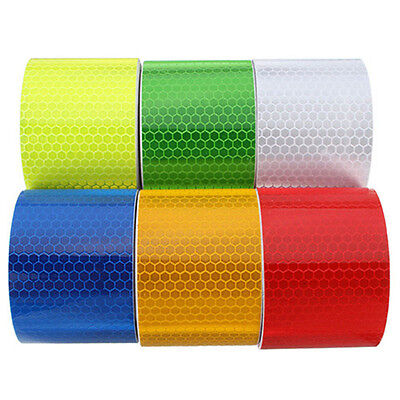 3m x 50mm High Intensity Safety Reflective Tape Self Adhesive Safty Tool Showy