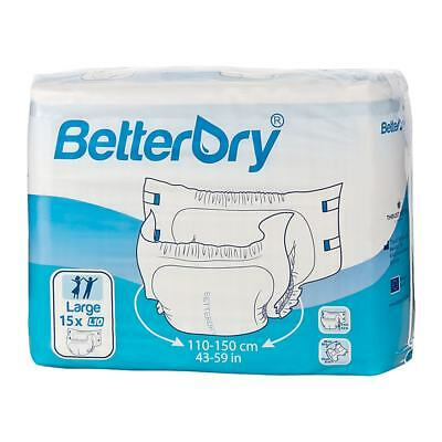 BetterDry - Large - Pack of 15