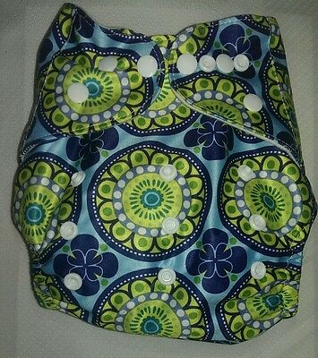 One New Pocket Cloth Diaper Nappy Reusable Washable Adjustable Size Eco Friendly
