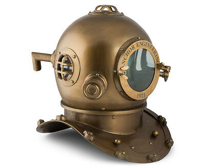 Diver's Helmet- Antique finish Vintage ,Full Size