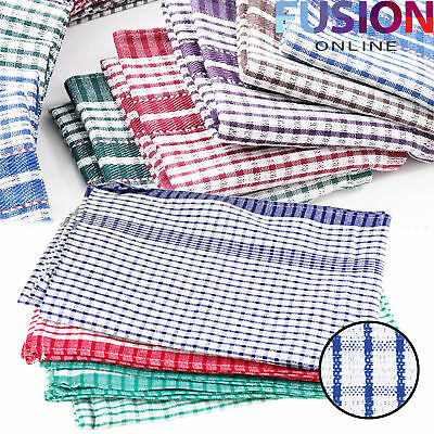 Large 100% Cotton Tea Towel Kitchen Towels Cleaning Cloth Dish Dry Cloths Drying