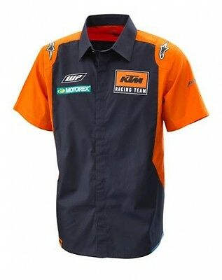 Ktm Camicia Replica Team Shirt 2017 Size Xl 3Pw1853005
