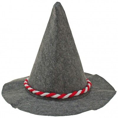 Traditional bavarian hat Red/White 100 Stück