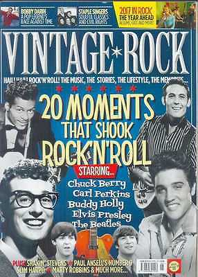 Vintage Rock Magazine (March/apr 2017) Chuck Berry, Elvis, Buddy Holly, Beatles