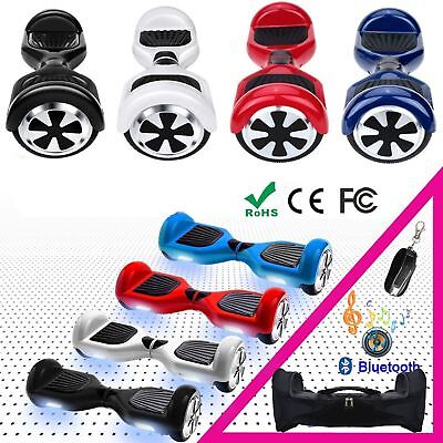"""10"""" Electrico Scooter Patinete Self Balancing Monopatin Hoverboard con Bolso MD"""