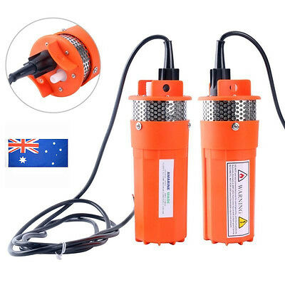 24V Submersible Deep Well Water Dc Pump / Alternative Energy Solar Battery New