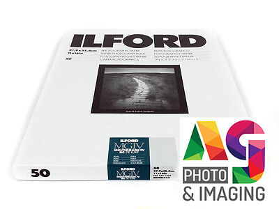 "ILFORD MGIV RC 9.5x12"" 10 Sheets PEARL Multigrade FRESH STOCK Darkroom paper"