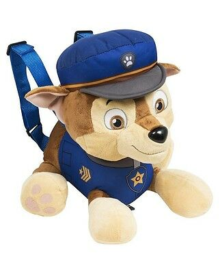 Mg-Pwp-8258 Paw Patrol Backpack Personaggi Peluches 45Cm Chase