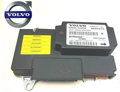 Volvo S40 S60 S60 V50 Xc90 Airbag Ecu Module Crash Data Reset Service