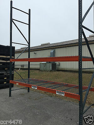 Pallet Racking Section- 16ft Uprights & 12ft Beams