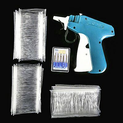 Price Label Tag Gun Labeler Tag Attacher White Barbs Durable Plastic Needles NEW