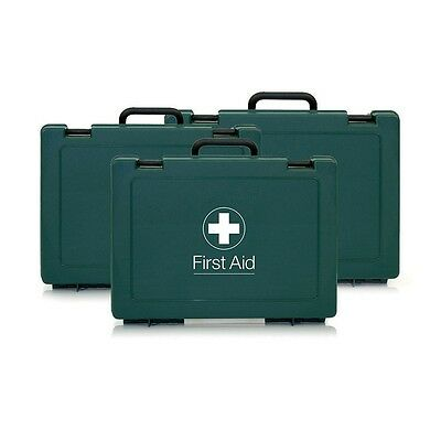 Empty Standard First Aid Box / Case - Small/Medium/Large - Includes Wall Bracket