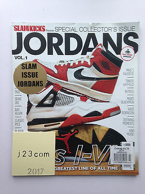 """SLAM KICKS presents JORDANS VOLUME 1"" - Special Collector's Issue - 2014"