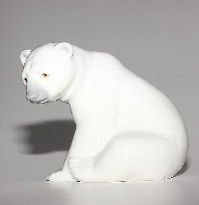 Lladro Animal, Polar Bear Seated, 1209.