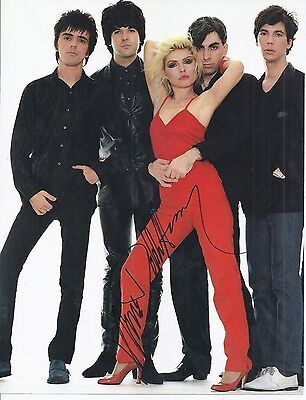 DEBBIE HARRY Signed Photo Autographed Book Photo BLONDIE Rock Pop New Wave COA