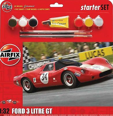 A55308 Airfix Ford 3 Litre GT Medium Starter Set 1:32 Scale - New UK