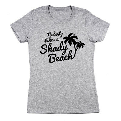 2b5e0d50f8836 Shirts Mens Shady Beach Funny Tees Sleeveless Tops Gym Workout Lifting  Novelty Fitness Tank White Crazy ...