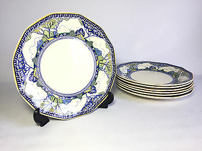 Royal Doulton 21Cm Merryweather Dinner Plates - 7 Available - Made In England