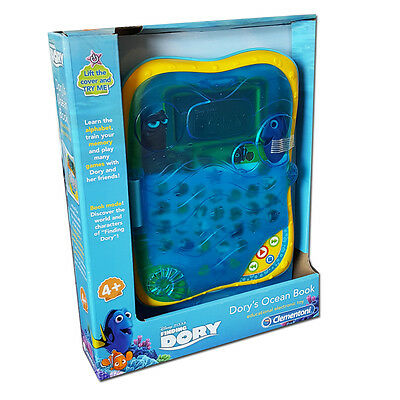 New Clementoni Disney Finding Dory Dory's Ocean Electronic Book