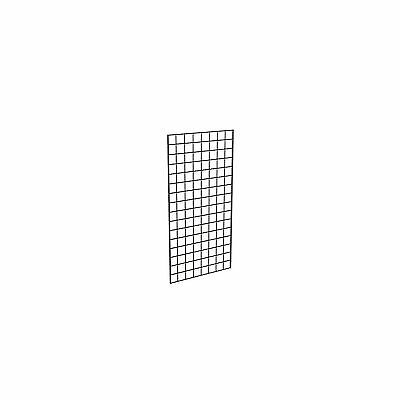 Econoco Commercial Grid Panels 2' Width x 4'Height Black (Pack of 3)