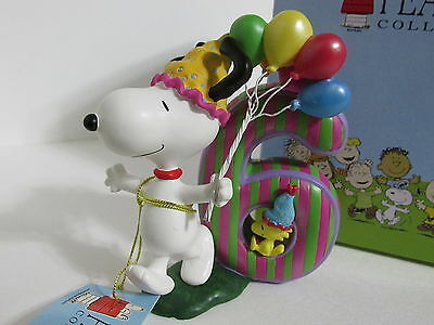 Snoopy Peanuts Charlie Brown Westland Giftware Number Series Figure Figurine #6