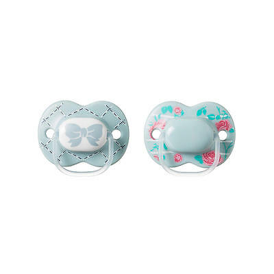 Tommee Tippee Little London 6-18 Months 2 Pack Pacifier - Unisex