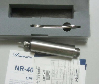 NSK Nakanishi NR-403E High Speed Spindle Drill Slitting Chamfering Grinding