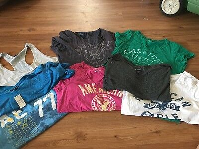 Women's American Eagle Lot Of 8 Shirts