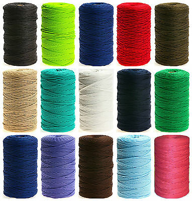 3Mm Braided Netting Twine Anorak Cord, Available In Different Colours & Lengths