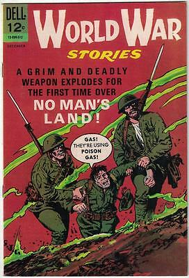 World War Stories #3 (Dell, 1965) -NO MAN'S LAND- FN+ Condition