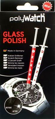 Polywatch High-tech Glass polish Kratzerentfernung aus Gläsern Made in Germany