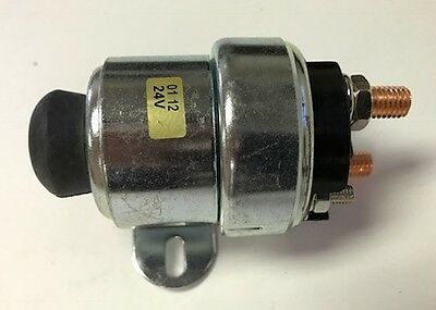SAW-11207588, Replacement for Lucas SRB321, 24V MANUAL PUSH BUTTON SOLENOID