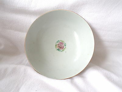 Antique Chinese Porcelain Bowl,19Th/ 20Th Century Famille Rose.