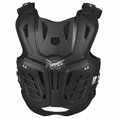 LEATT YOUTH 4.5 BODY PROTECTOR Black Small/Medium