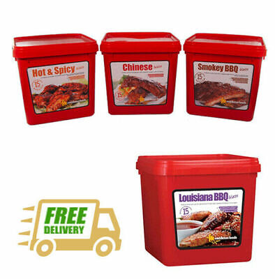 Middleton Foods 🌾 Meat Vegetable Glaze Marinade Seasoning Mix 2.5kg Red Tub