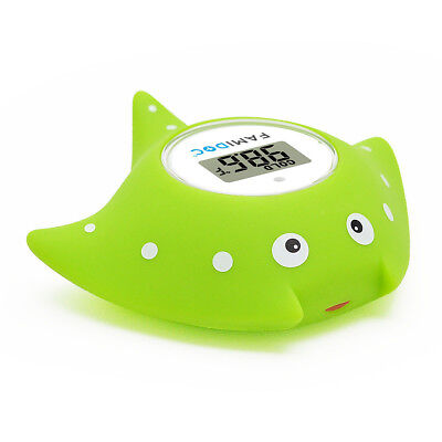 Famidoc Baby Bath Waterproof Floating Thermometer and Bath Toy Fish Thermometer