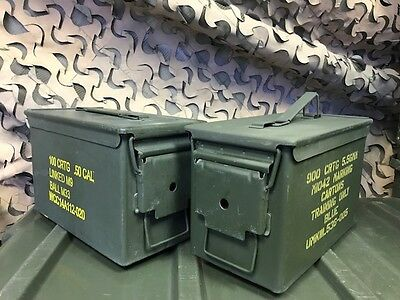 AMMO CANS (2 PACK) .50 CAL / 5.56mm    $19.99!