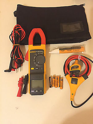 Fluke 381 Remote Display True-RMS AC/DC Clamp Meter with iFlex, Great! TP#214435